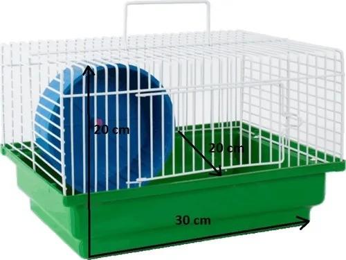 Gaiola Hamster Básica Brasileirinha