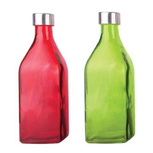 Garrafa  de Vidro Scotch Colorida 1 L