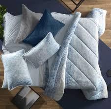 Jogo de Cama Queen  Blend Malha 100% algodão Universe - Azul