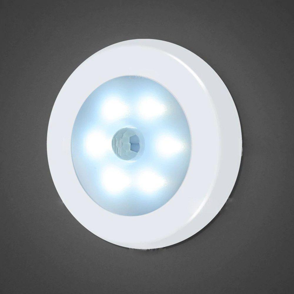 Kit 2 pçs  Luminária De Led Com Sensor De Movimento