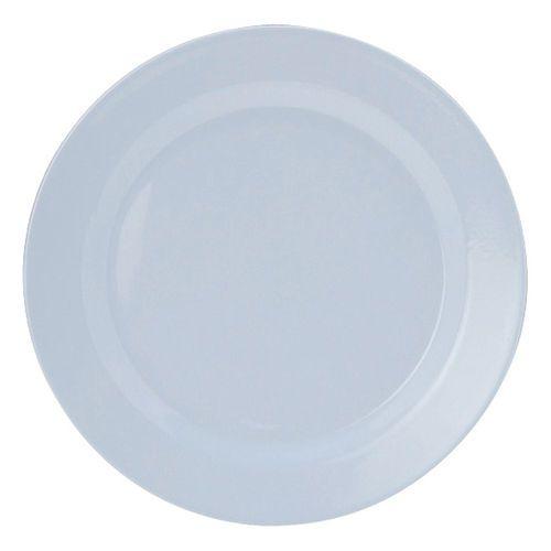 Kit  6 Pratos  de jantar Melamine Branco 28cm