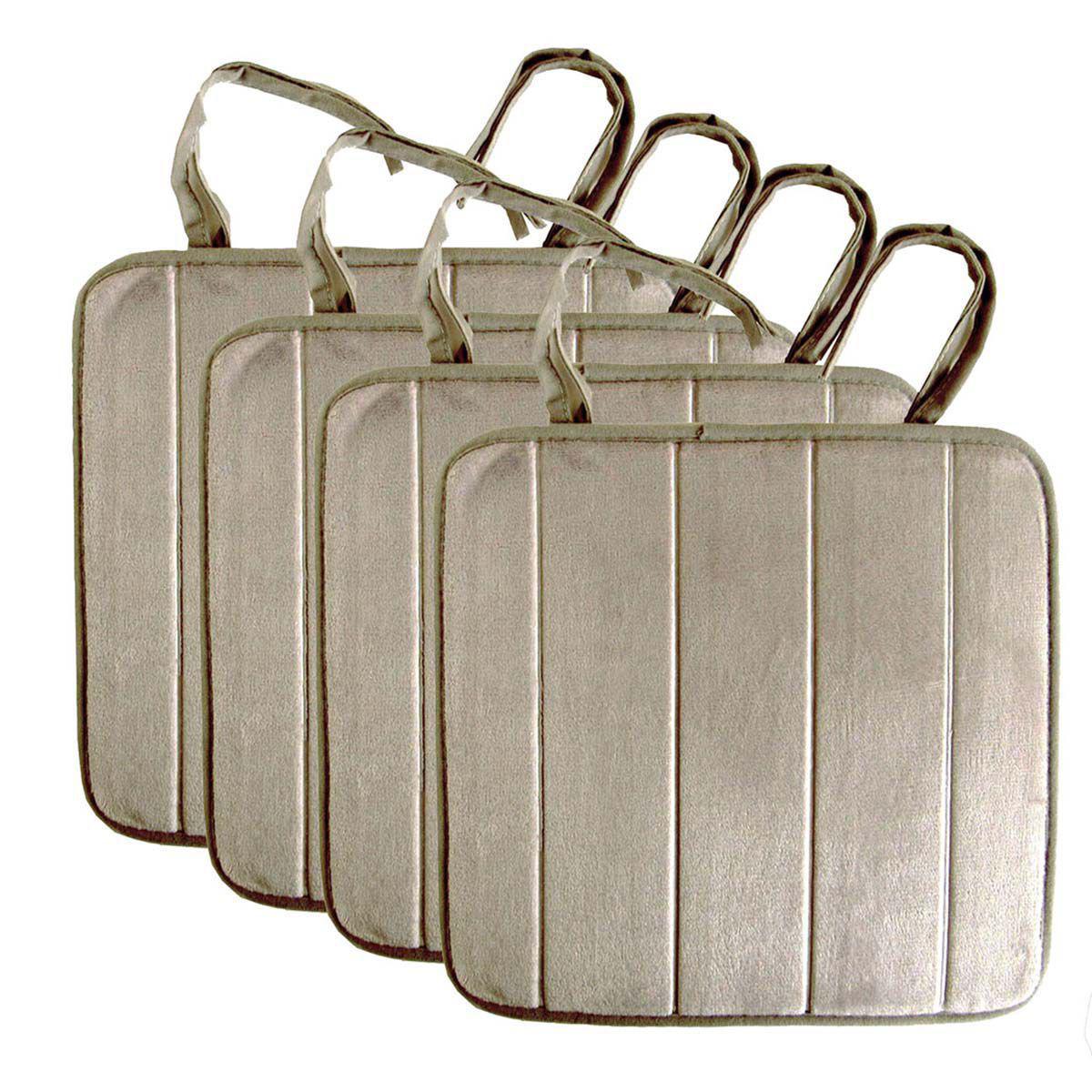 Kit Assento de Cadeira 4 Peças  38 cm x 38 cm