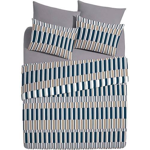 Kit Cama Casal Bed In A Bag Borgo 7 pçs