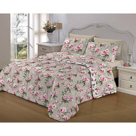 Kit Cama Queen  7 Peças Bed In A Bag Brera