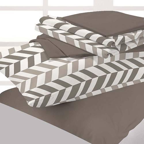 Kit Cama Solteiro 5 Pçs Bed In A Bag Spada