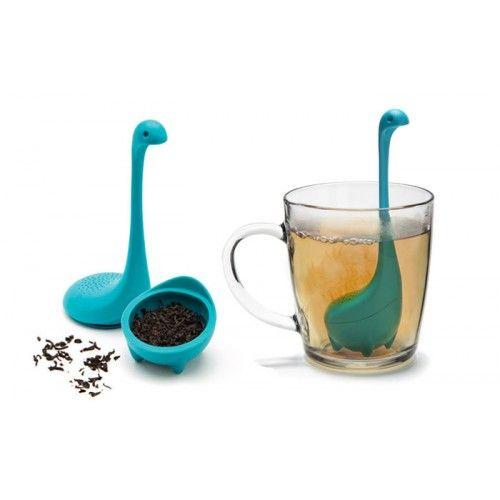 Kit Família Nessie - Concha, Espumadeira e Infusor de Chá