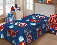 Manta de Microfibra Avengers 150x200