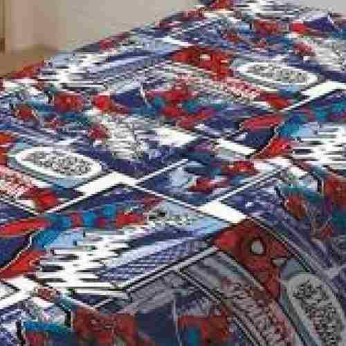 Manta de Microfibra Solteiro Homem Aranha