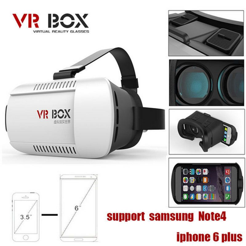 Óculos de Realidade Virtual 3D Para Smartphone
