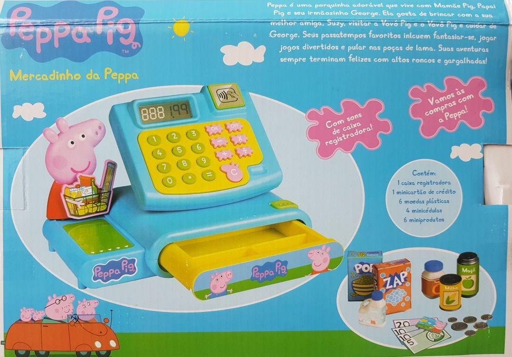 Peppa Pig Mercadinho Caixa Registradora Dtc