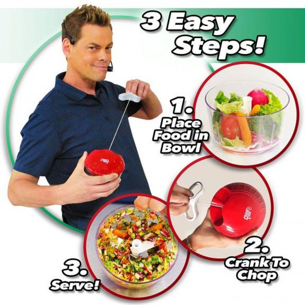 Processador Manual de Alimentos