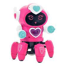 Robô Lady com Movimento Som e Luz