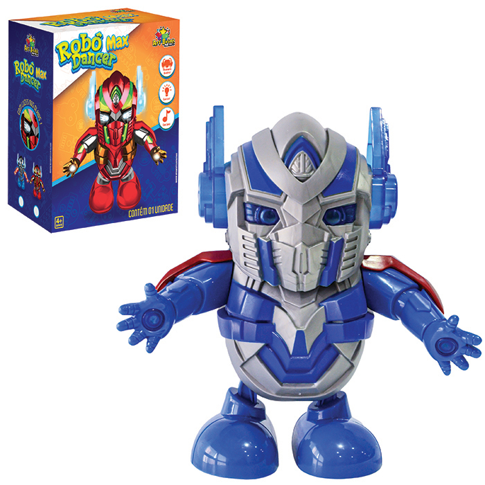 Robo Prime Dancarino C/som E Luz