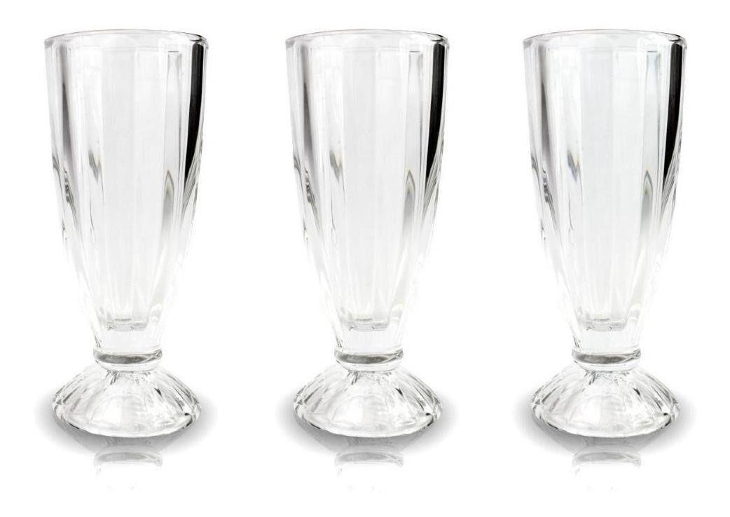 Taças de Vidro 3 unidades 300 ml