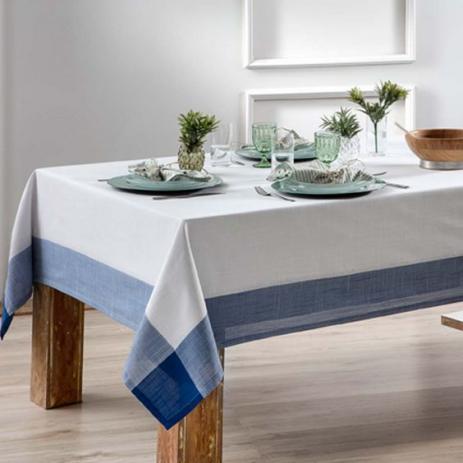 Toalha de mesa Retangular Chamonix Naturalle 1,80x2,80