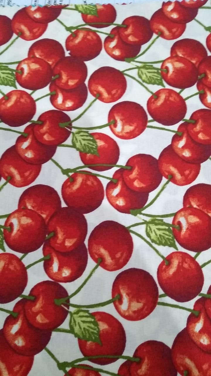 Toalha de Mesa Retangular Impermeavel 160x220 cm Cereja
