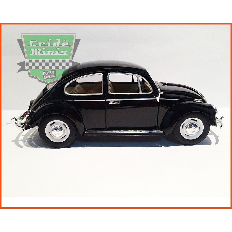 Fusca Sedan 1967 1300 Preto - escala 1/24