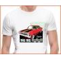 Camiseta - Opala Ss II Vermelho