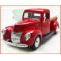Ford Pick-up 1940 Red - escala 1/24