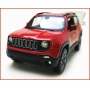 Jeep Renegade Vermellho - escala 1/24