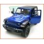 Jeep Wrangler 2018 Azul - escala 1/32