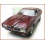 Pontiac Judge GTO 1969 Vinho - Escala 1/24