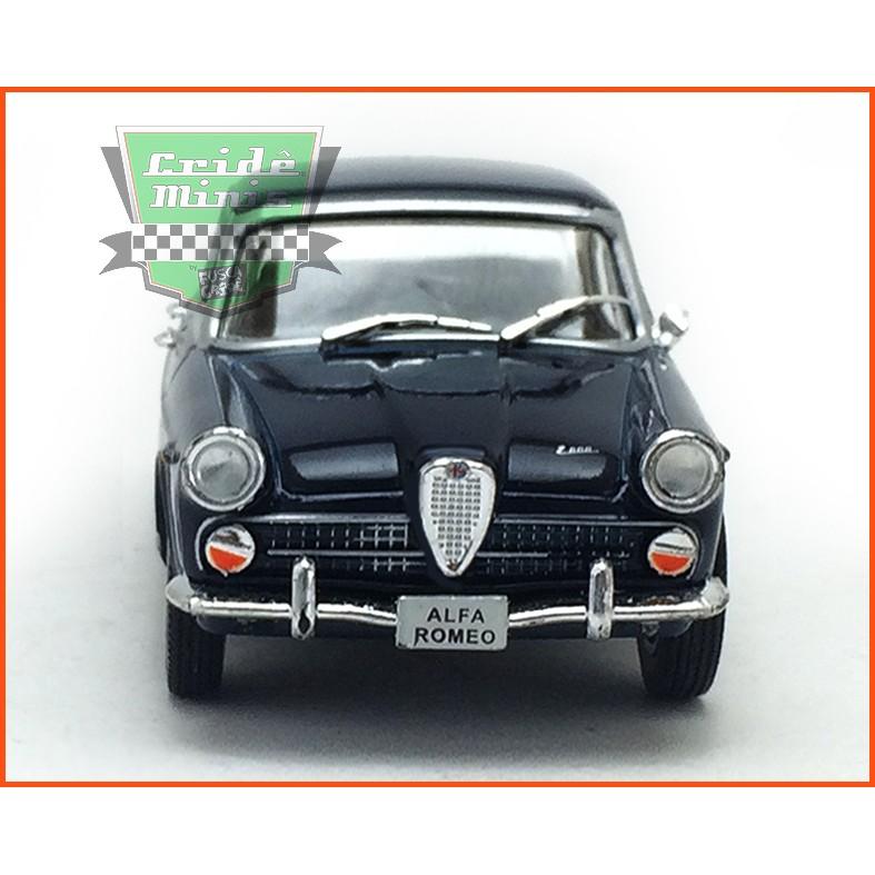 Alfa Romeo FNM JK2000 1967 - Carros Nacionais - escala 1/43