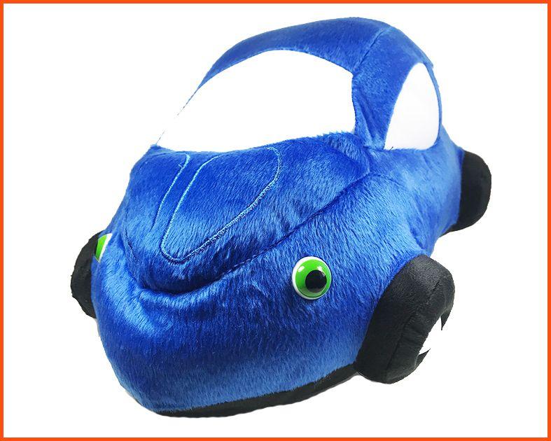 Almofada Fusca Pelúcia Azul