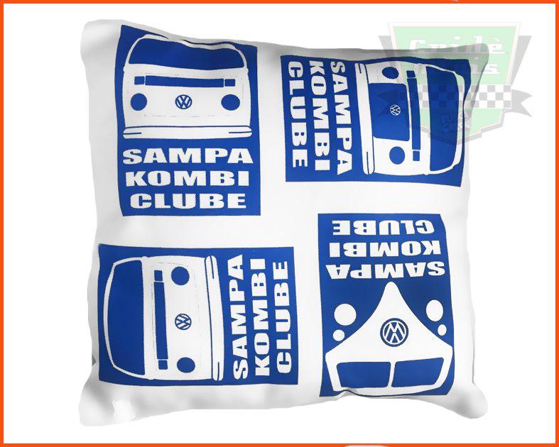 Almofada Sampa Kombi Clube com Ziper