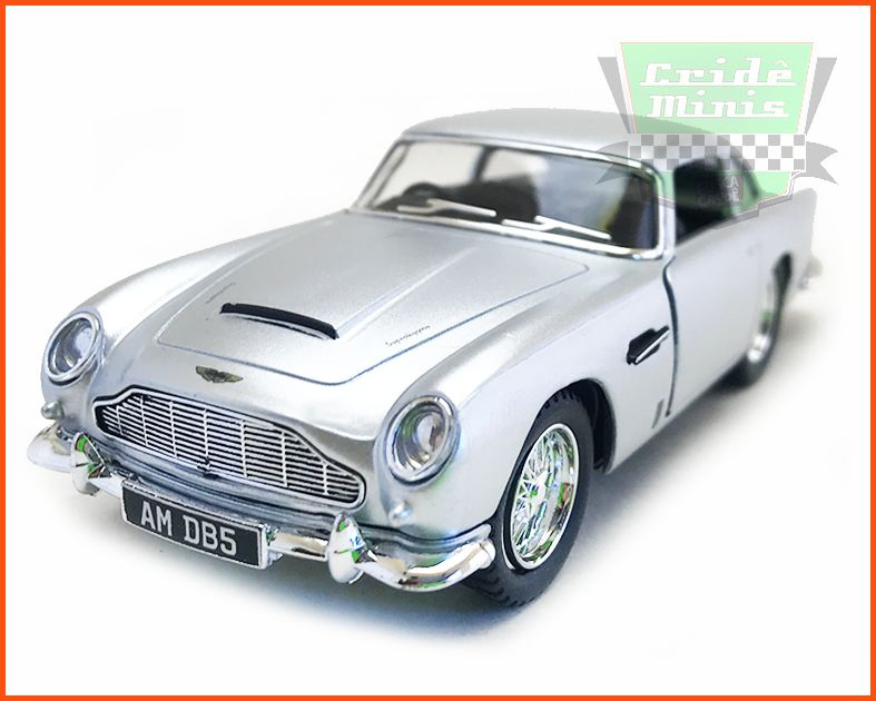 Aston Martin DB5 1963 James Bond com Caixa Personalizada - escala 1/38
