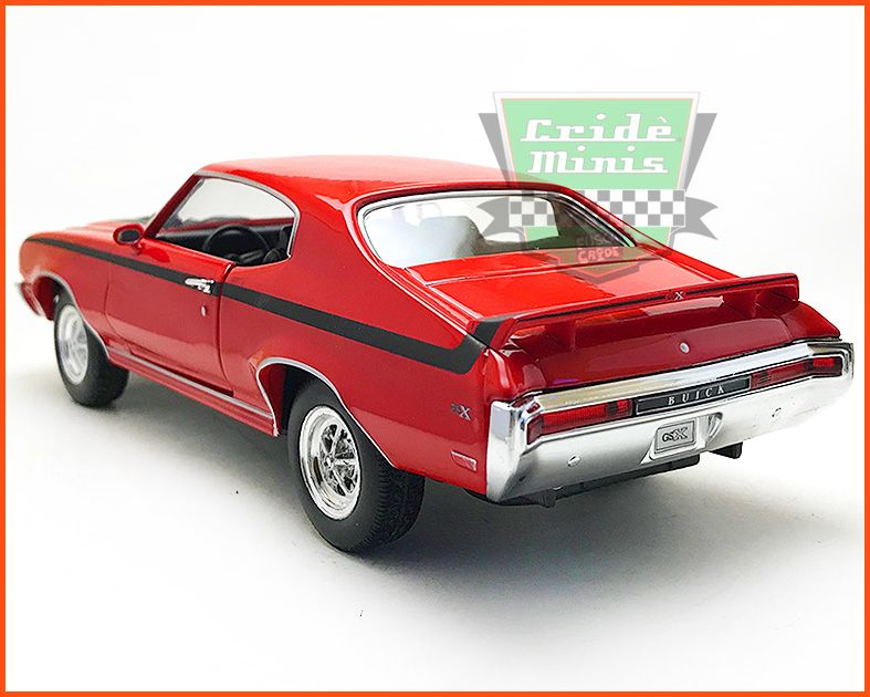 Buick GSX 1970 Red - escala 1/24