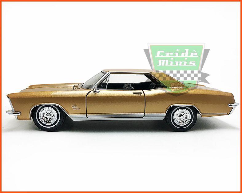 Buick Riviera Gran Sport 1965 Gold - escala 1/24