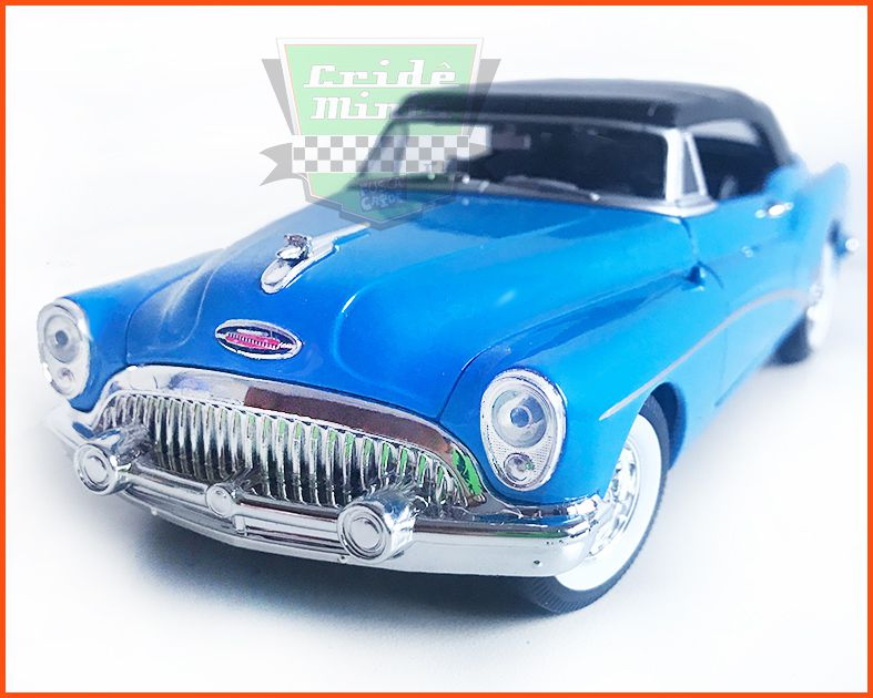 Buick Skylark 1953 Blue - escala 1/24