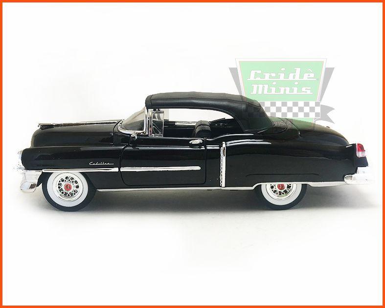 Cadillac Eldorado 1953 black - Escala 1/24