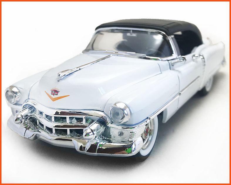 Cadillac Eldorado 1953 branco - Escala 1/24