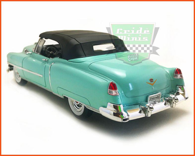 Cadillac Eldorado 1953 Verde - Escala 1/24