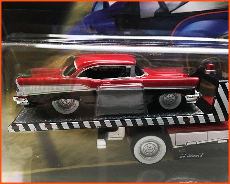 Caminhão chevrolet Plataforma/Chevrolet Bel Air 1957 - escala 1/64