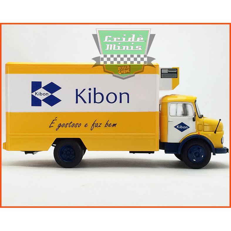 Caminhão da Kibon - Mercedes 1113 A - LACRADA - escala 1/43