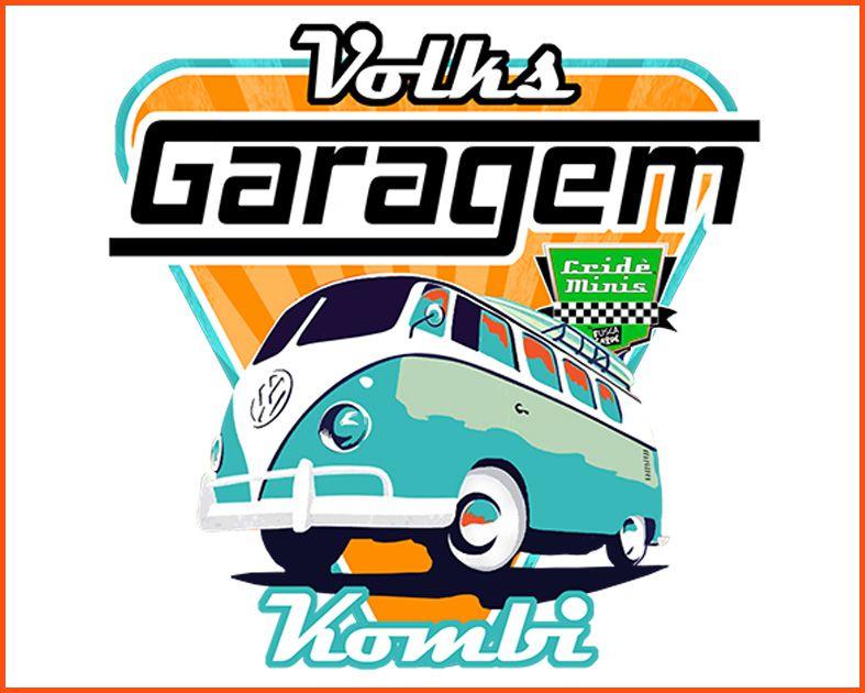 Camiseta Crideminis Garagem Kombi