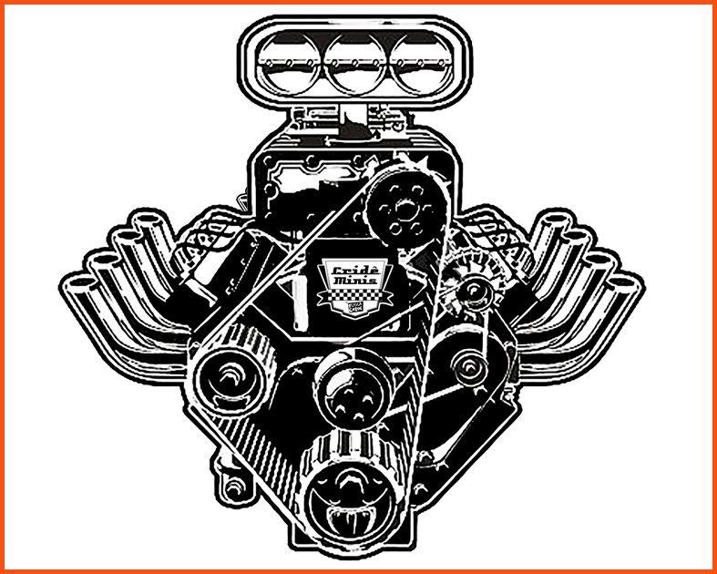 Camiseta Crideminis Motor