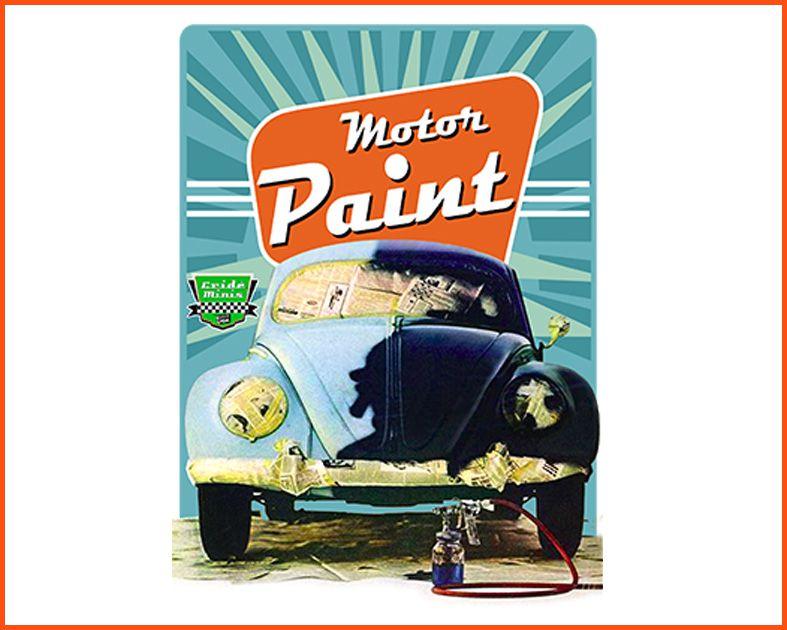 Camiseta Crideminis Motor Paint