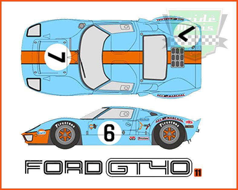 Camiseta GT40