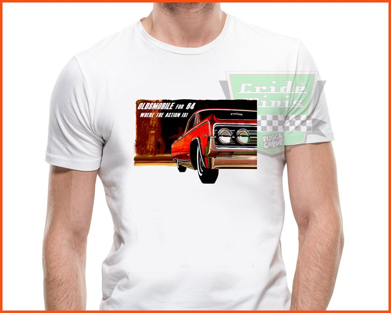 Camiseta - Oldsmobile