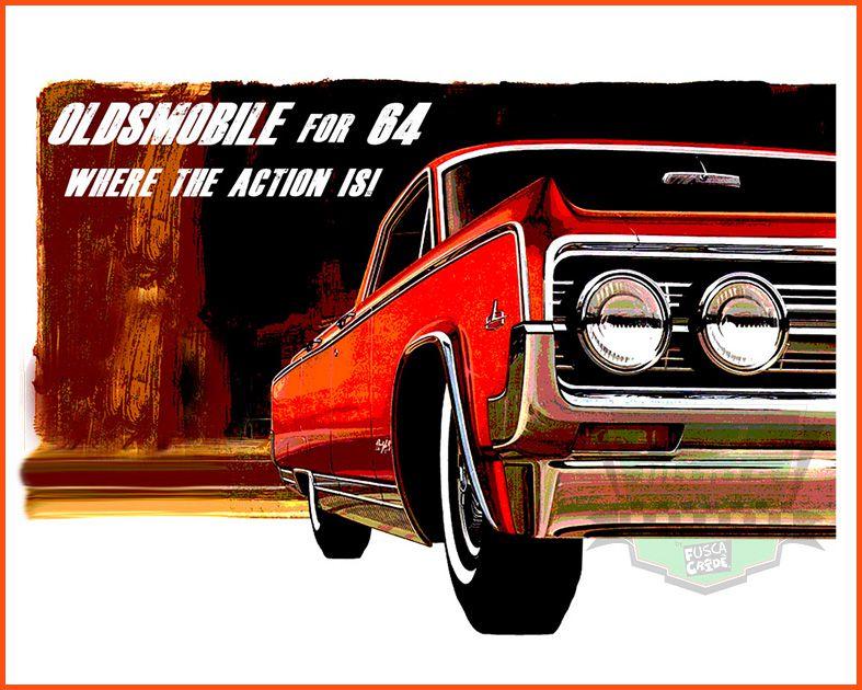 Camiseta - Oldsmobile