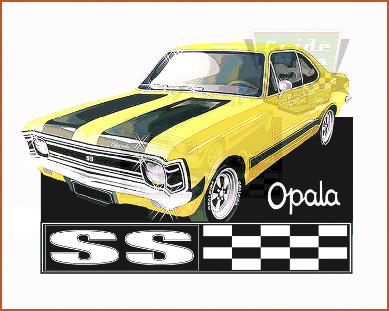 Camiseta - Opala Ss - Amarelo - Masculino