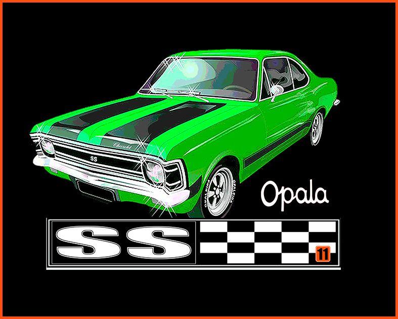 Camiseta - Opala SS Preto - Masculino