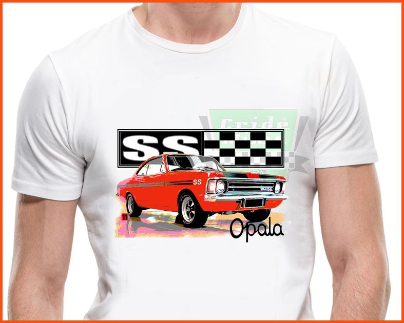 Camiseta - Opala Ss Vermelho