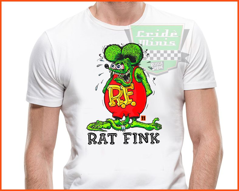 Camiseta - Rat Fink