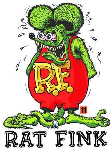 Camiseta - Rat Fink