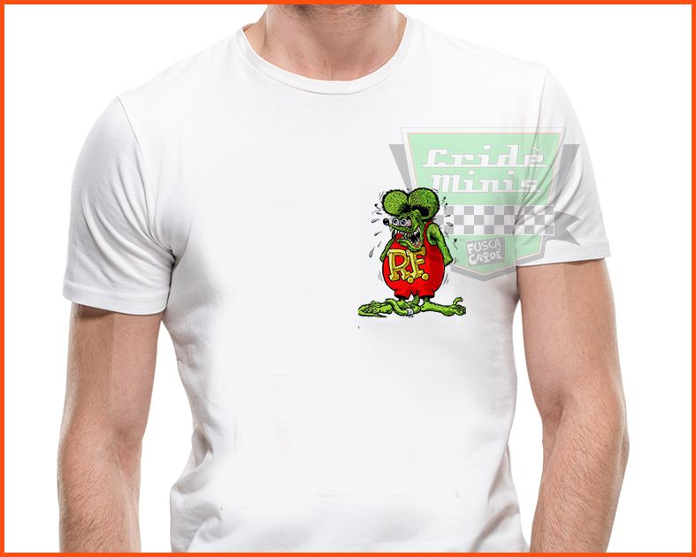 Camiseta - Rat Fink Spherize